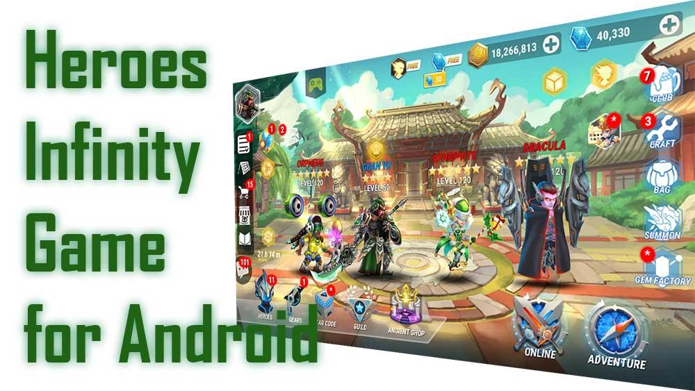 Heroes Infinity RPG Game
